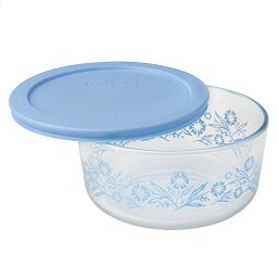 Simply Storage® 4 Cup Cornflower Storage Bowl w/ Lid