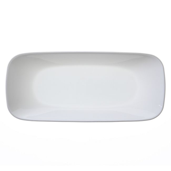 "Square™ Pure White 10.5"" Appetizer Tray"