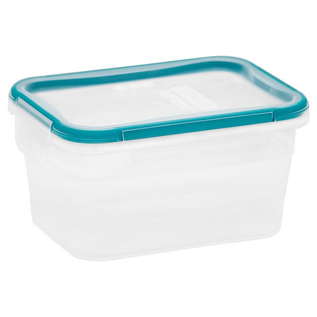 Total Solution Plastic Food Storage 5.02 Cup, Rectangle