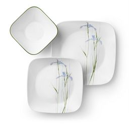 Shadow Iris 18-pc Dinnerware Set top view