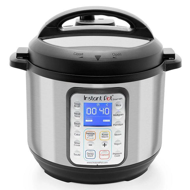 Instant Pot® Smart Wifi 6-quart Multi-Use Pressure Cooker and WiFi Compatible