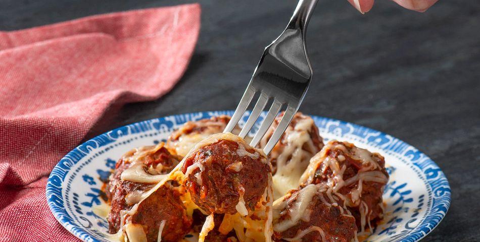 Quick Meatball Parmigiana