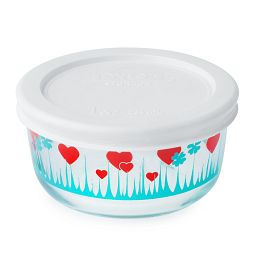 1 Cup Lucky in Love Storage Dish w/ Lid On