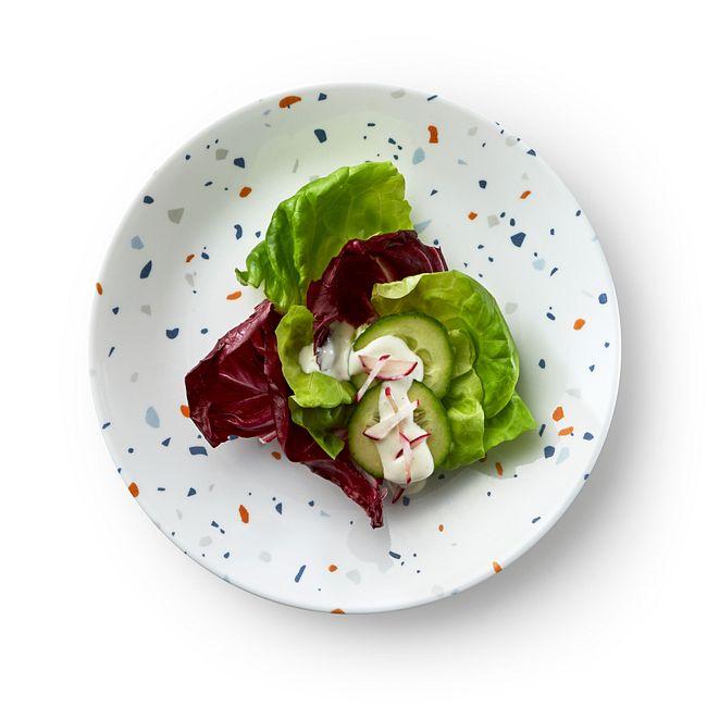 "Terrazzo Azul 8.5"" Salad Plate"