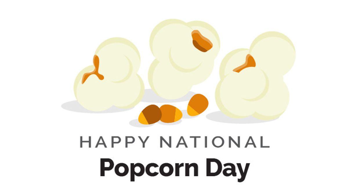 World Kitchen | Happy National Popcorn Day Infographic