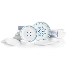 Santorini Sky 78-pc Dinnerware Set