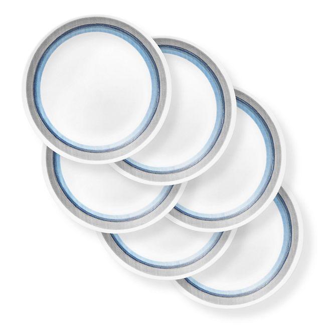 "Elemental Dawn 10.25"" Dinner Plates, 6-pack"