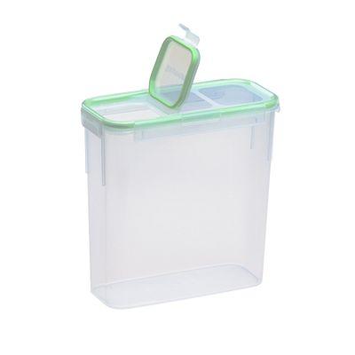 Snapware Airtight Food Storage 15.3 Cup Rectangular Slim Container W/ Fliptop Lid