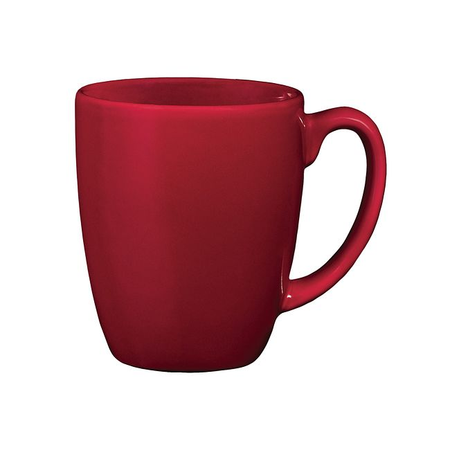 11-ounce Dark Red Mug