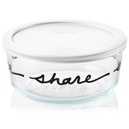 Simply Store® 7 Cup Celebrations Share Storage Dish w/ Lid