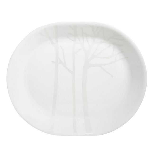 "Corelle Frost 12.25"" Serving Platter"