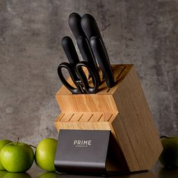 Black Oxide 7-pc Block Set