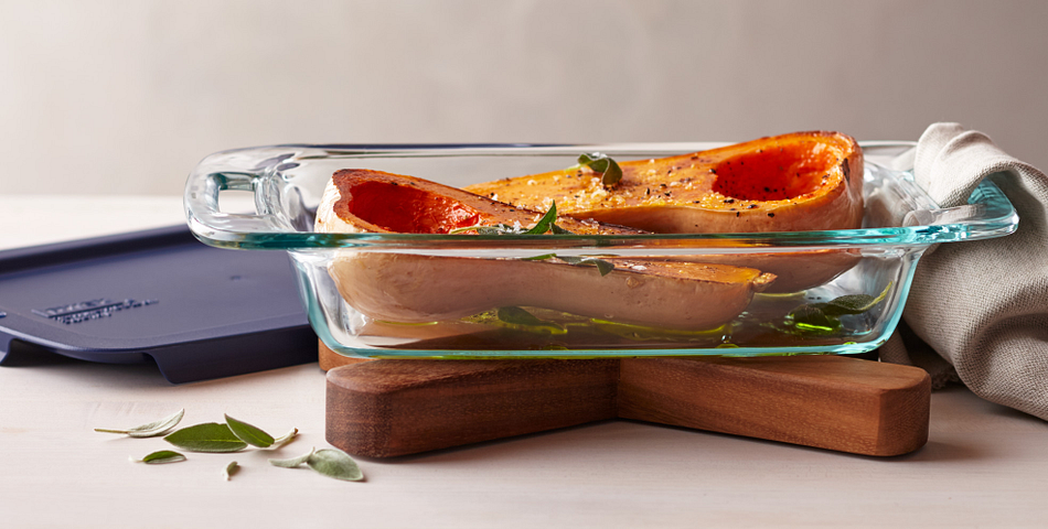 Easy Grab Baking Dish with Butternut Squash