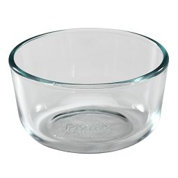 1 Cup Round Glass Bowl
