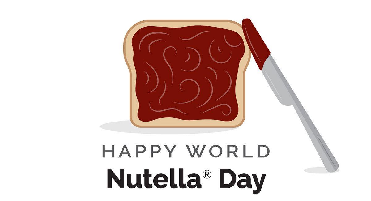 World Kitchen | Happy World Nutella Day Infographic