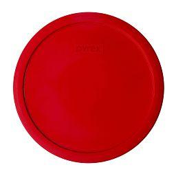 2.5-qt Round Plastic Lid  Red