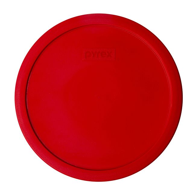 Red Lid for 2.5-quart Glass Mixing Bowl