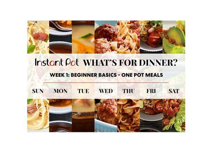 Instant Pot What's For Dinner Social Post thumbnail
