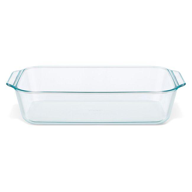 "9"" x 13"" x 3"" Deep Baking Dish w/ Sage Lid"