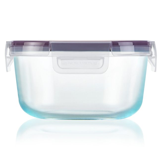 Total Solution Pyrex Glass Food Storage 4 Cup, Round