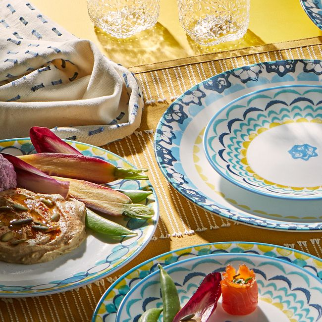 Boho Daydream 18-piece Dinnerware Set, Service for 6