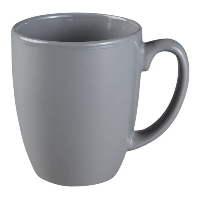 Livingware 11-oz Stoneware Mug, Slate Gray