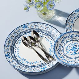 Portofino Lifestyle Image with Flatware on plate