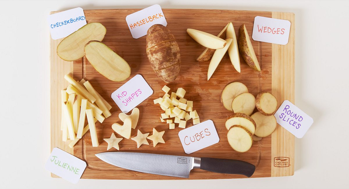 How to Cut a Potato 7 Ways