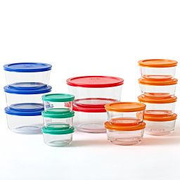 Simply Store 28-pc Glass Storage Set