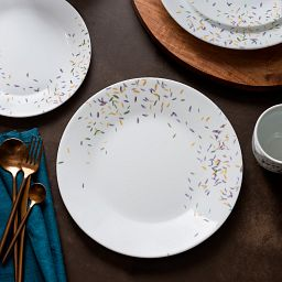 Corelle Autumn Dance 16-pc Dinnerware Set on tablescape