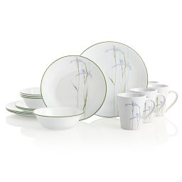 Shadow Iris 16-pc Dinnerware Full Set View