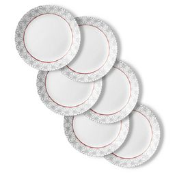 "Amalfi Rosa 10.25"" Dinner Plates, 6-pack"