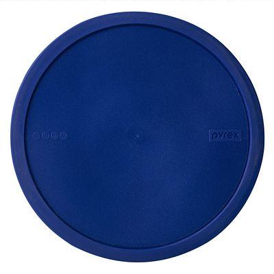 Pyrex Watercolor Collection 4-Qt Mixing Bowl, Blue Plastic Lid