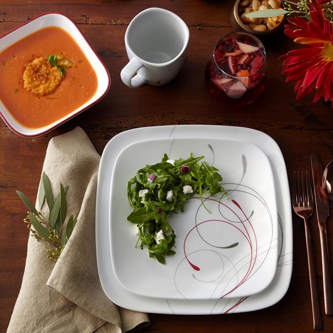 Splendor 16-piece Dinnerware Set, Service for 4