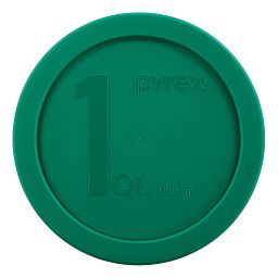 1-qt Round Mixing Bowl Plastic Cover  Green