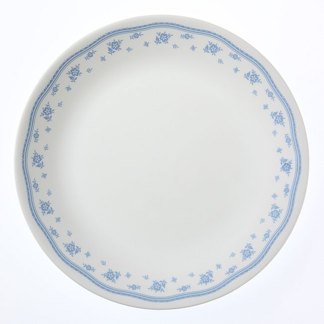 "Morning Blue 10.25"" Dinner Plate"