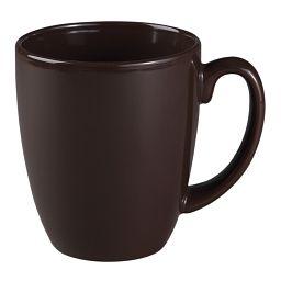 Livingware™ 11-oz Stoneware Mug, Brown