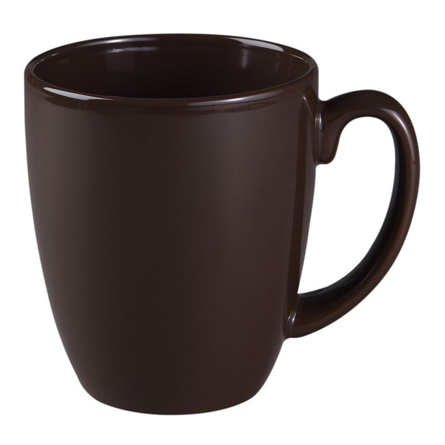 11-ounce Dark Brown Mug