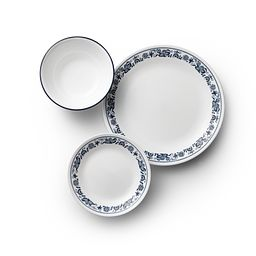 Old Town Blue 18-pc Dinnerware Set Top View