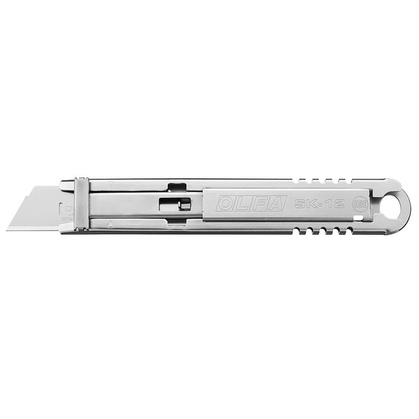 Self-Retracting Stainless Steel Safety Knife (SK-12)