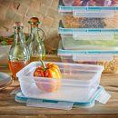 Total Solution™ 10-piece Plastic Rectangle Food Storage Set