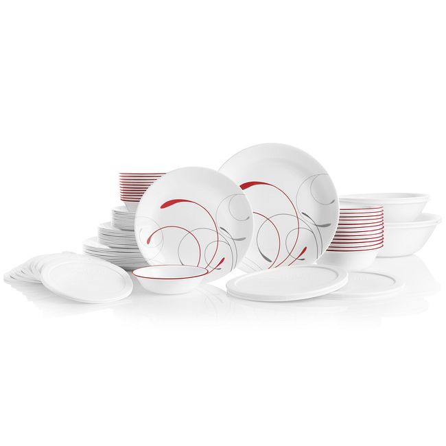 Classic Splendor 78-piece Dinnerware Set, Service for 12