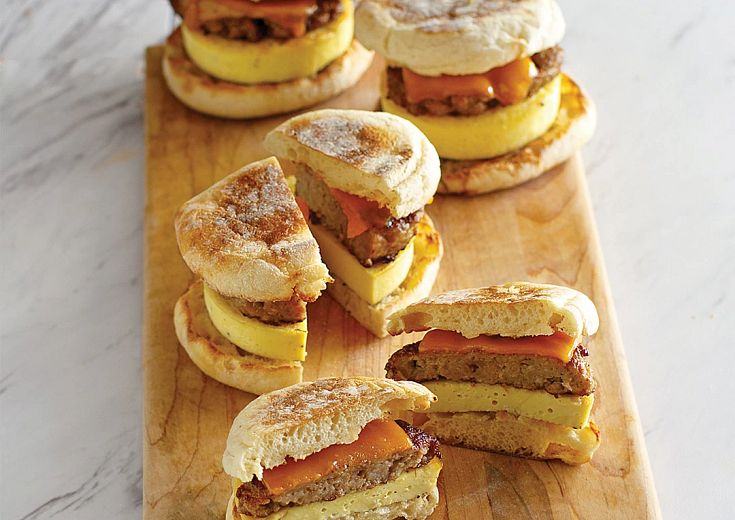 Sausage and Egg Sandwiches