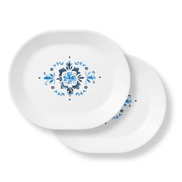 "Portofino 12.25"" Serving Platters, 2-pack"