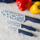 60th Anniversary Cornflower 3-pc Value Pack Knife Set