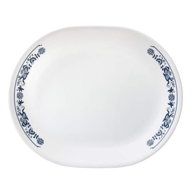 "Livingware Old Town Blue 12.25"" Serving Platter"