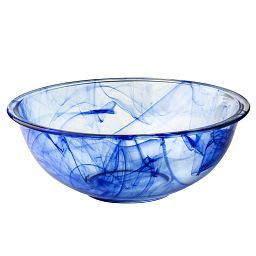 Watercolor Collection Blue Lagoon 4-qt Mixing Bowl