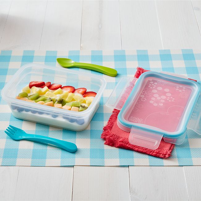3-cup Plastic Food Storage Container