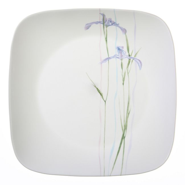 Square Shadow Iris 18-pc Dinnerware Set