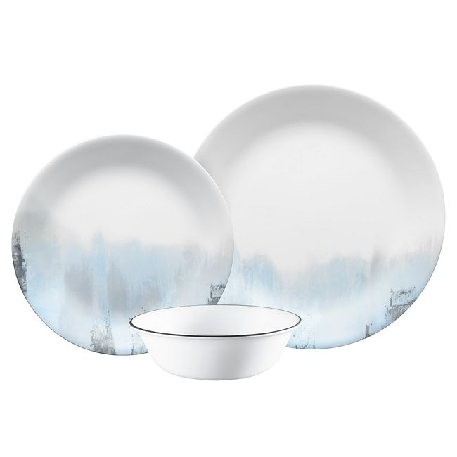 Tranquil Reflection 12-piece Dinnerware Set, Service for 4